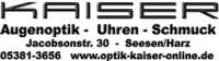 KAISER AUGENOPTIK-UHREN-SCHMUCK