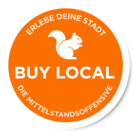 Wir sind Förderpartner der Initiative Buy Local e.V.